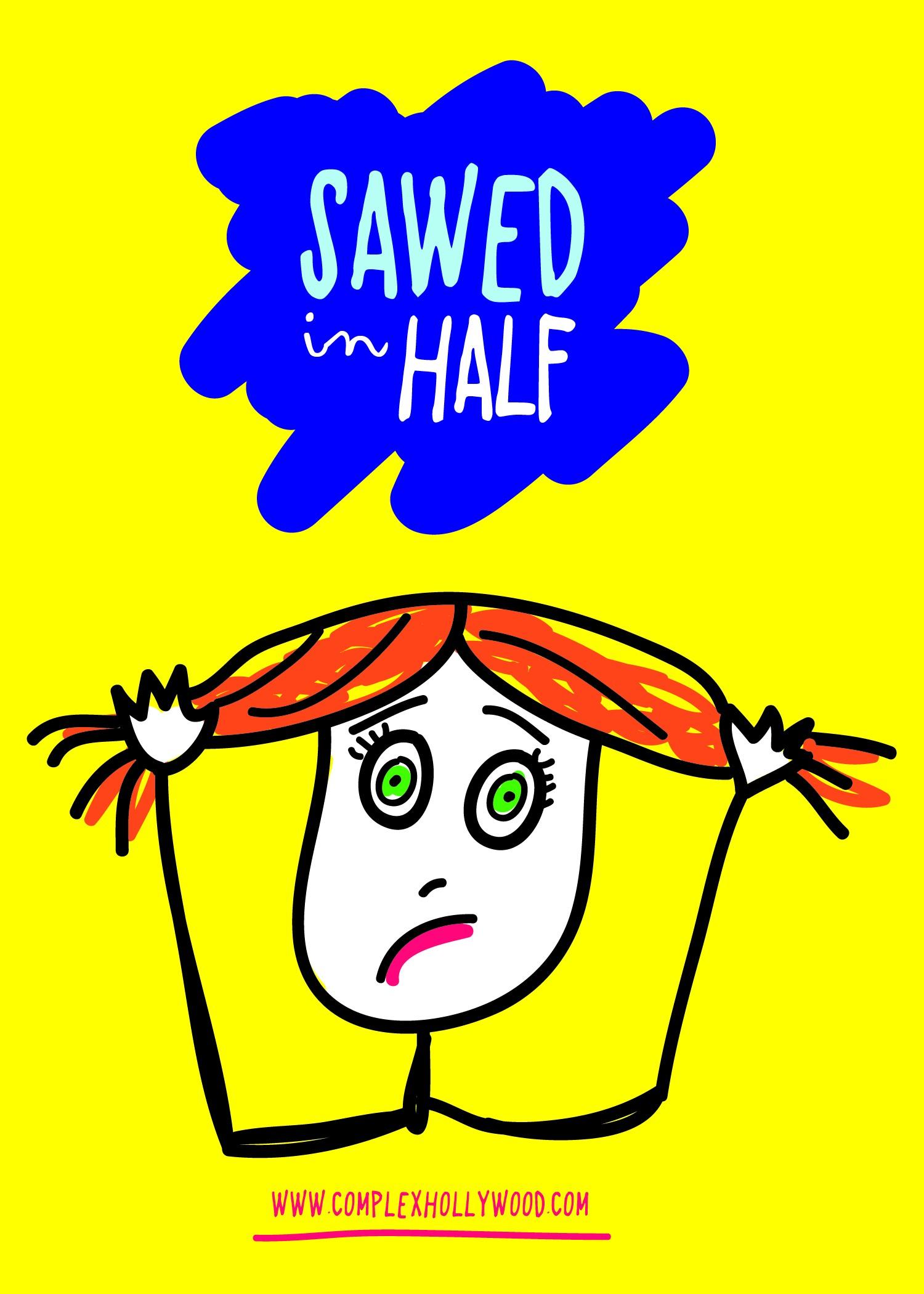Andrea Mezvinsky -- SAWED IN HALF!